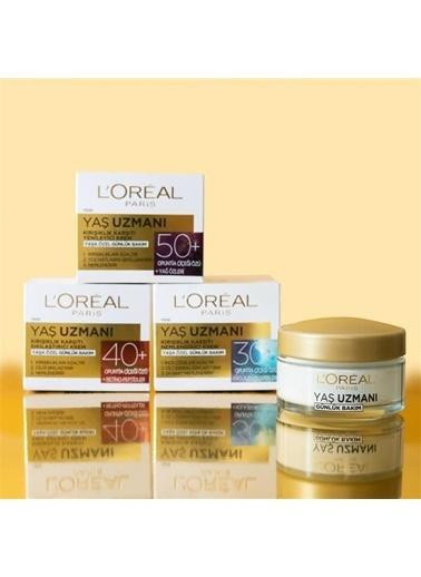 L'Oréal Paris L'Oréal Paris Yaş Uzmanı 30+ Kırışıklık Karşıtı Nemlendirici Krem Renksiz